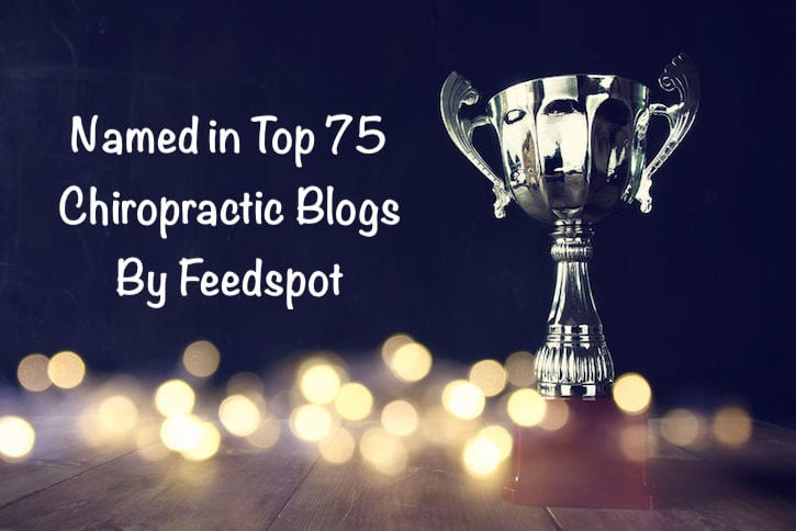 Strategic Chiropractor Named Among Top 5 Blogs in Chiropractic!