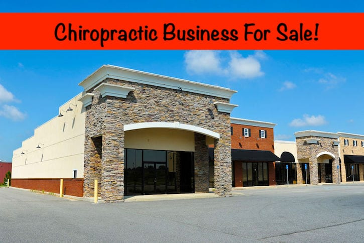 chiropractic practice for sale