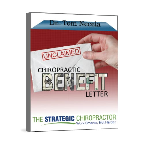 Unclaimed chiropractic benefits letter