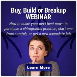 Buy-Build-Breakup-Chiropractic Webinar